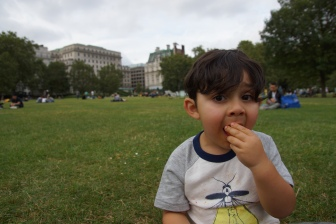 Picnic at Green Park, London