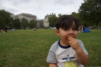 Picnic at Green Park, London